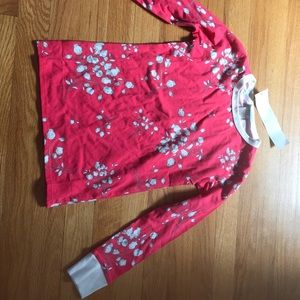 Pink and white Kids pjs with tags
